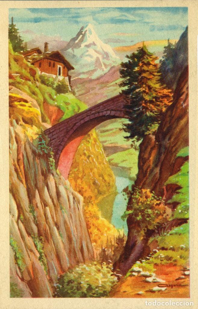 Postales: 6 ANTIGUAS POSTALES ARTIGAS - 4 unidades Colección Sirenita y 2 unidades Colección 5538 - Foto 6 - 194029392