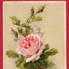 Postales: X7 FLOR FLORES ROSAS BLANCAS Y ROSAS POSTAL FIRMADA. Lote 194159841