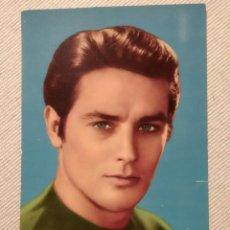 Postales: POSTAL ALAIN DELON. Lote 194403816