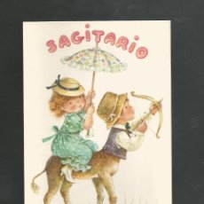Postales: POSTAL SIN CIRCULAR HOROSCOPO SAGITARIO EDITA CYZ 6003-A. Lote 194964490