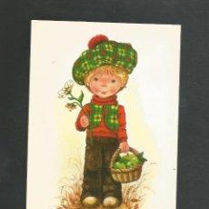 Postales: POSTAL SIN CIRCULAR DIBUJO SERIE MARY MAY 446/1 EDITA PROMOTORA DE ARTES GRAFICAS. Lote 194964940