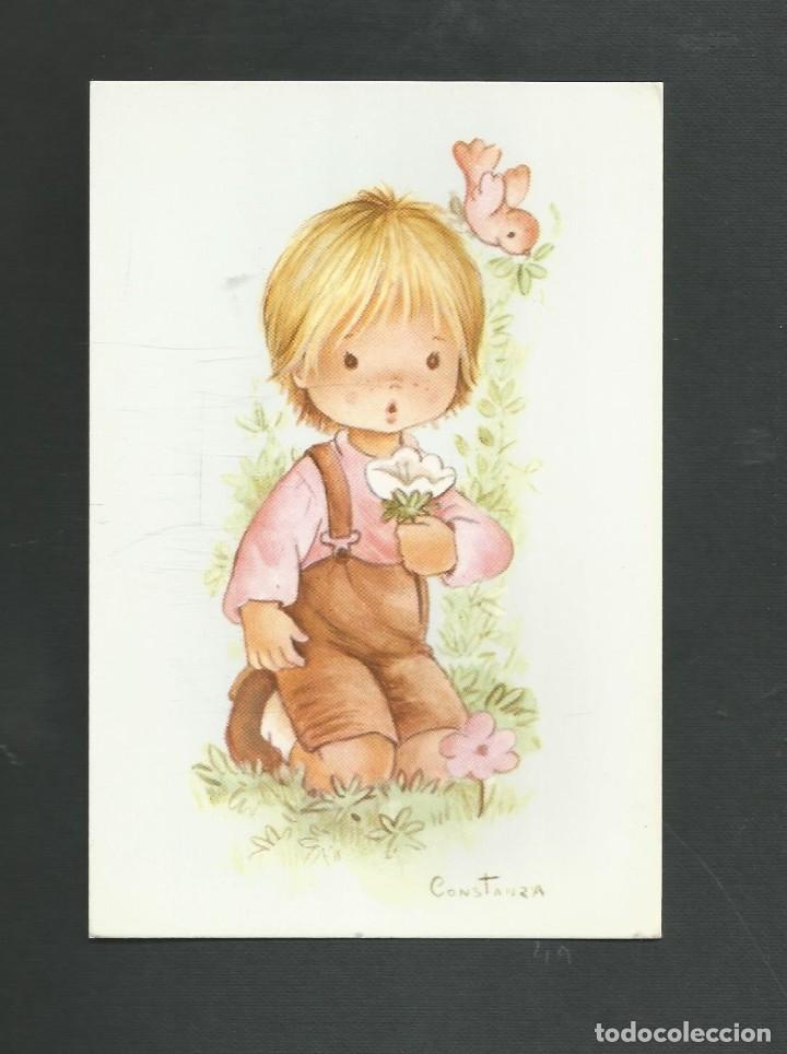 POSTAL SIN CIRCULAR DIBUJO EDITA CYZ 6032-D (Postales - Postales Temáticas - Dibujos originales y Grabados)