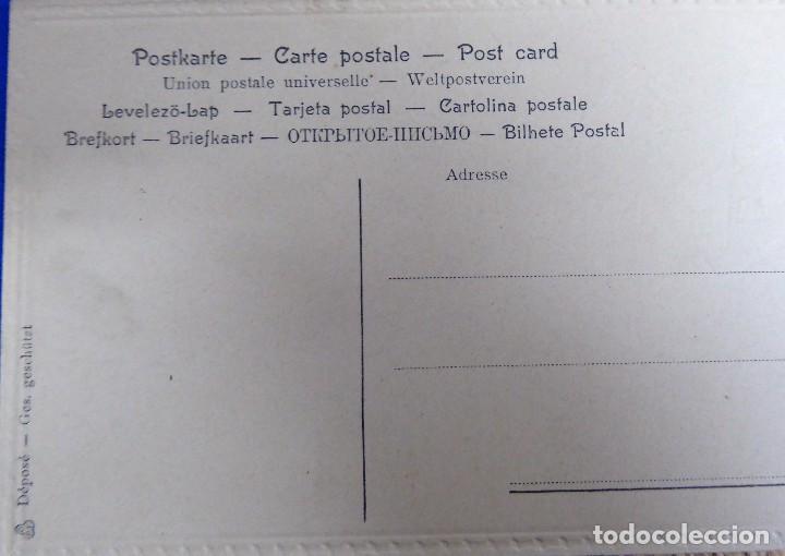 Postales: P-10077. 4 INVITACIONES PARA PARTIDA DE CARTAS. SIN CIRCULAR. AÑOS 30. - Foto 6 - 195224147