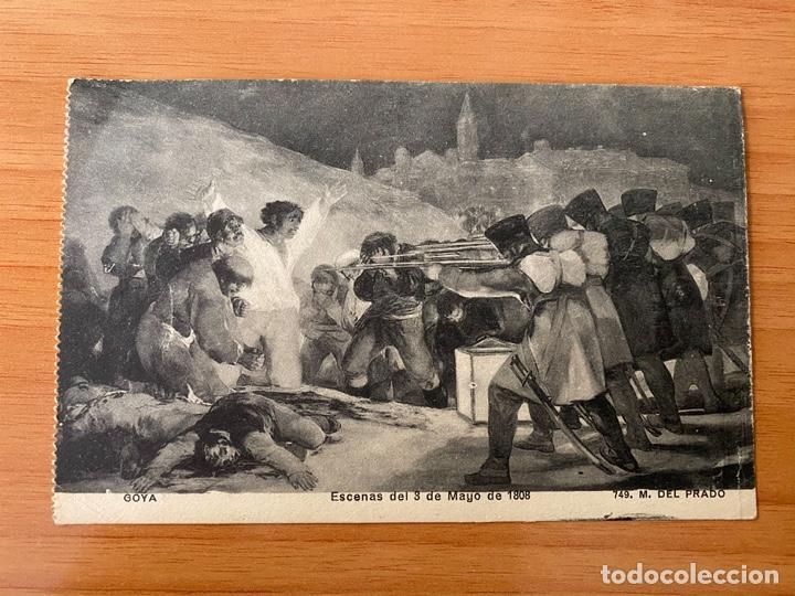 POSTAL '3 DE MAYO DE 1808' DE GOYA - MADRID, 1914 (PRIMERA GUERRA MUNDIAL) (Postales - Postales Temáticas - Dibujos originales y Grabados)