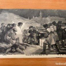 Postales: POSTAL '3 DE MAYO DE 1808' DE GOYA - 1914. Lote 195358845