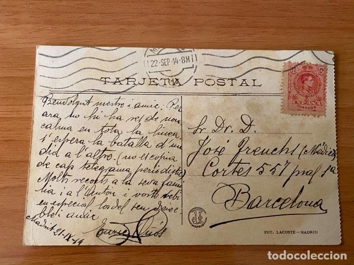 Postales: Postal 3 de Mayo de 1808 de Goya - Madrid, 1914 (Primera Guerra Mundial) - Foto 2 - 195358845