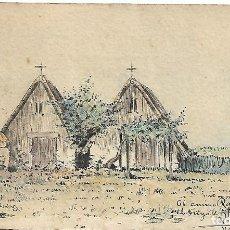 Postales: PAISAJE FIRMADO R AZNAR 1903. Lote 196641798