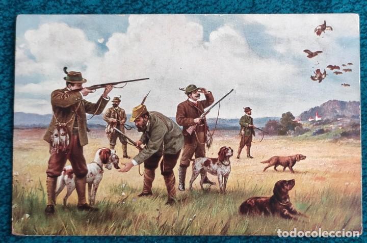 BONITA POSTAL DE 1914 (Postales - Postales Temáticas - Dibujos originales y Grabados)