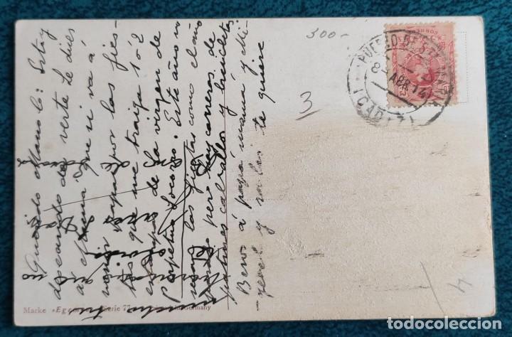 Postales: Bonita postal de 1914 - Foto 2 - 197073175