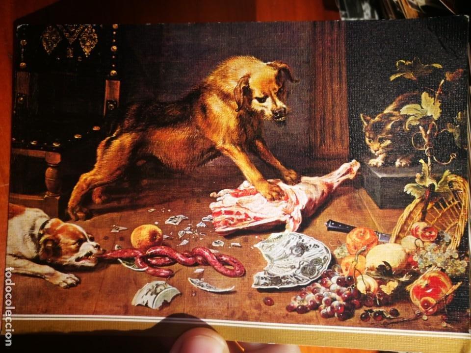 POSTAL UNA DESPENSA SNYDERS 1579 - 1657 MUSEO DEL PRADO N 206 ESCUDO DE ORO S/C (Postales - Postales Temáticas - Dibujos originales y Grabados)