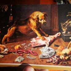 Postales: POSTAL UNA DESPENSA SNYDERS 1579 - 1657 MUSEO DEL PRADO N 206 ESCUDO DE ORO S/C. Lote 198591341