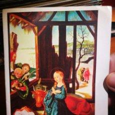 Postales: POSTAL NATIVIDAD PINTADA CON LA BOCA POR SCHRICKER N 1846 ARTIS MUTI 1965. Lote 198619436