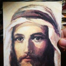 Postales: POSTAL JESÚS ÓLEO POR CONSUELO BORDAS ROMA CASA GENERALICIA ESCRITA 1993. Lote 198620305