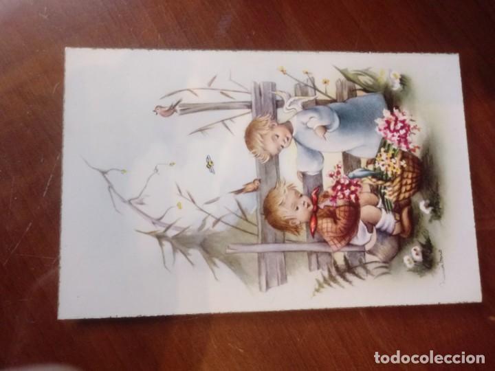 POSTAL ANTIGUA (Postales - Postales Temáticas - Dibujos originales y Grabados)