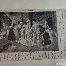 Postales: JOSÉ LLOVERA - SERIE A Nº 8 LA MAYA - EDICIÓN S. DURAN BORI - ANTIGUA POSTAL ESCRITA CON SELLO. Lote 198958791