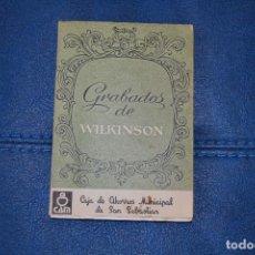 Postales: COLECCION DE 12 POSTALES CON GRABADOS DE WILKINSON. Lote 199124521