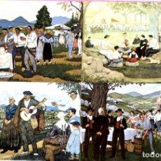 Postales: LOTE DE 10 POSTALES JOSE ARRUE VALLE EDITADO POR POSTALARTE BILBAO-TEMA PINTURA. Lote 199395701