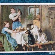Postales: BONITA POSTAL DE 1907. Lote 204151093