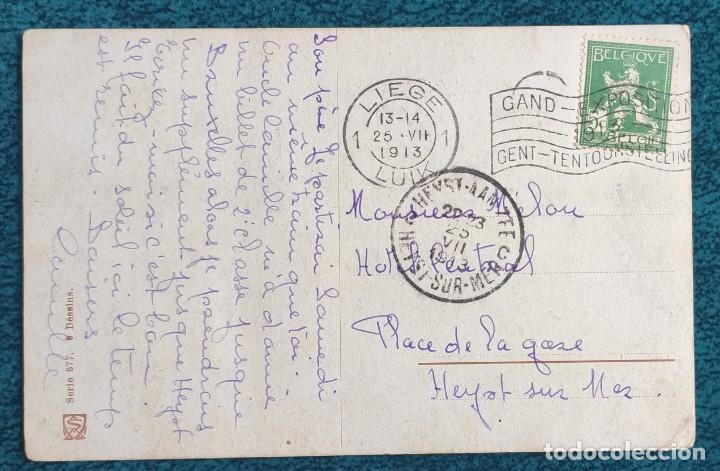 BONITA POSTAL DE 1913 (Postales - Postales Temáticas - Dibujos originales y Grabados)