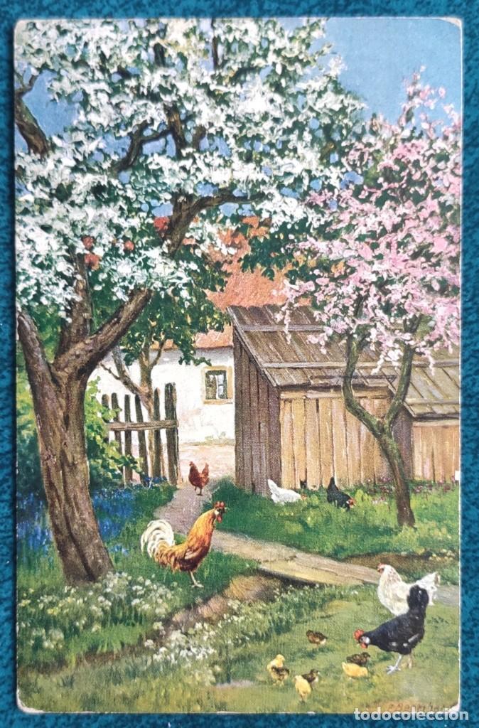 Postales: Bonita postal de 1913 - Foto 2 - 204151268