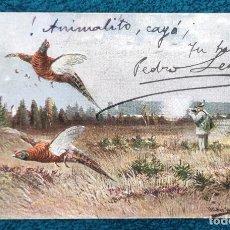 Postales: BONITA POSTAL DE 1903. Lote 204151452