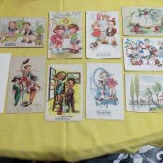 Postales: LOTE ANTIGUAS POSTALES 3 DE ELLAS CIRCULADAS. Lote 204472218