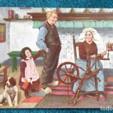 Postales: BONITA POSTAL DE 1909. Lote 204646192