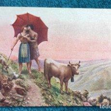 Postales: BONITA POSTAL DE 1906. Lote 204646621
