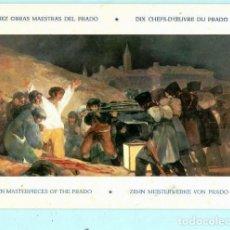 Postales: DIEZ POSTALES DEL MUSEO DEL PRADO DE 22 X 15. Lote 205026272