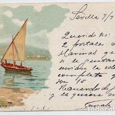 Postales: POSTAL CIRCULADA CON SELLO Y MATASELLO - AÑO 1902 - DORSO EN FOTO ADICIONAL. Lote 205736765