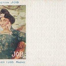 Postales: POSTAL ILUSTRADA POR MAXENCE COLLECTION JOB CALENDRIER 1903. REVERSO SIN DIVIDIR. SIN CIRCULAR. Lote 206164620