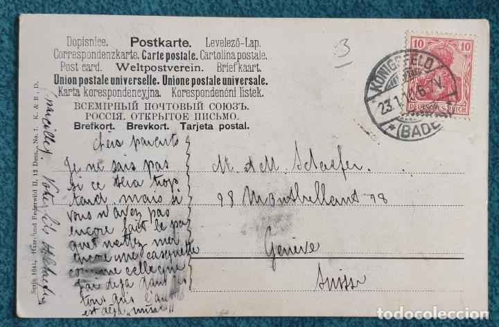 Postales: Bonita y valiosa postal de 1906 - Foto 2 - 206334363