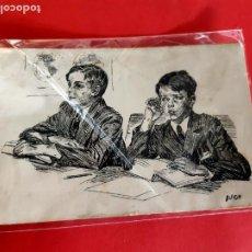 Postales: POSTAL PRINCIPIOS DE SIGLO -ILUSTRACIÓN DE DUCH-SIN CIRCULAR. Lote 210324641