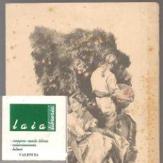 Postales: 03053 FELICITACION FALLERA, DIBUJO ARTURO BALLESTER,VALENCIA ,EDITOR JDP 15X 12 CM ...NN. Lote 211893400