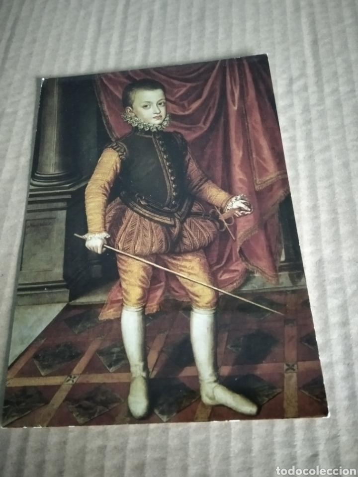 POSTAL MONASTERIO DE LOS DESCALZOS REALES (Postales - Postales Temáticas - Dibujos originales y Grabados)