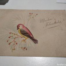 Postales: TARJETA POSTAL MUCHAS FELICIDADES. Lote 213918602