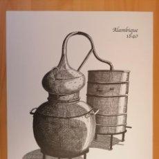 Postales: ALAMBIQUE 1840 -ESTE GRABADO EXCLUSIVO POR ALVARO PALANCA PARA RUAVIEJA,. Lote 216392840