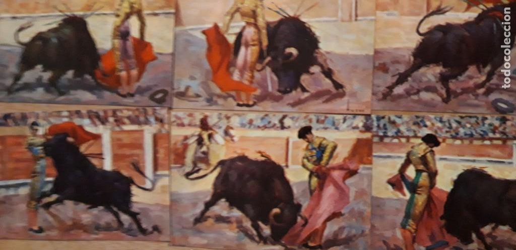 Postales: 1 COLECCION 9 POSTALES ** MANOLETE ** EL GRAN TORERO . EDIT ARTIGAS BARCELONA - Foto 3 - 217258778