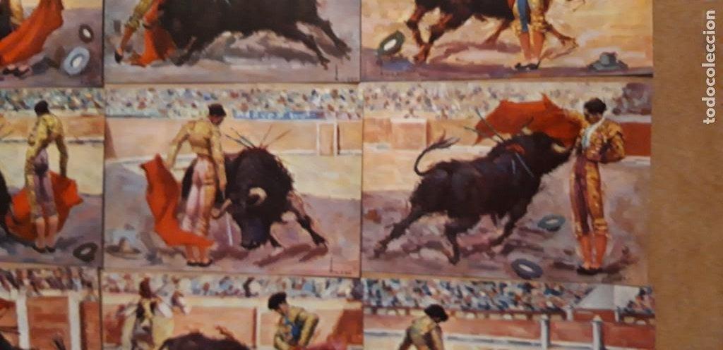 Postales: 1 COLECCION 9 POSTALES ** MANOLETE ** EL GRAN TORERO . EDIT ARTIGAS BARCELONA - Foto 4 - 217258778
