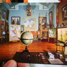 Postales: POSTAL JOAQUÍN SOROLLA BASTIDA 1863 - 1923 EL ESTUDIO DEL PINTOR MUSEO SOROLLA MADRID. Lote 220561373