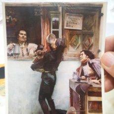 Postales: POSTAL GARCIA RAMOS HASTA VERTE CRISTO MÍO SEVILLA MUSEO DE BELLAS ARTES N 338 ESCUDO DE ORO S/C. Lote 220580265