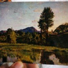 Postales: POSTAL BARTHELEMY MENN 1815 - 1893 LE MARÍA GENEVE MUSEE D'ART ET D'HISTOIRE JAEGER GENEVE S/C. Lote 220646391