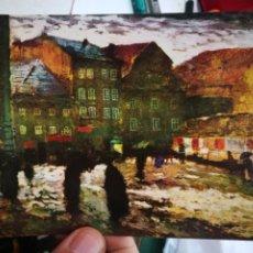 Postales: POSTAL ANTONIN SLAVICEK 1870 1910 MARIANSKE NAMESTI 1906 NARODNI GALERIE S/C. Lote 220653981