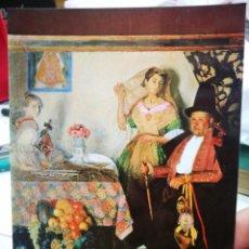 Postales: POSTAL GABRIEL ESTEVE EL ALCALDE DE ALBUISECH MUSEO BELLAS ARTES VALENCIA N 70. Lote 220654230