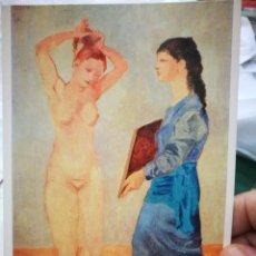 Postales: POSTAL PICASSO TOILETTE 1906 N 306 ALBRIGHT KNIX ART GALLERY BÚFALO USA LA POLIGRAFA S/C. Lote 220657978