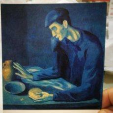 Postales: POSTAL PICASSO EL HOMBRE CIEGO DETALLE THE METROPOLITAN MUSEUM OF ART NEW YORK N 328 LA POLIGRAFA S/. Lote 220658133