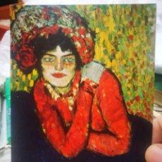 Postales: POSTAL PABLO RUIZ PICASSO MARGOT 1901 MUSEU D'ART MODERNO BARCELONA EDICIONS SALVE S/C. Lote 220665925