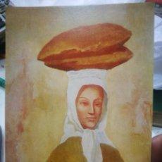 Postales: POSTAL PICASSO LA MUJER DE LOS PANES 1906 THE PHILADELPHIA MUSEUM OF ART U.S.A. N 304 LA POLIGRAFA. Lote 220675257