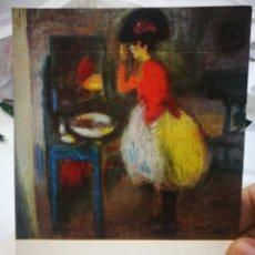 Postales: POSTAL PICASSO TOILETTE 1900 MUSEO PICASSO BARCELONA N 180 LA POLIGRAFA S/C. Lote 220688755