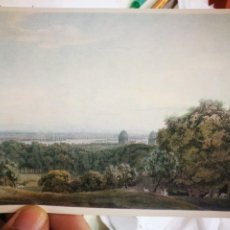 Postales: POSTAL J. R. COZENS 1752 - 1797 WIEW OF LONDON AND THAME FROM GREENWICH WATERCOLOUR COURTAULD INSTIT. Lote 220753630